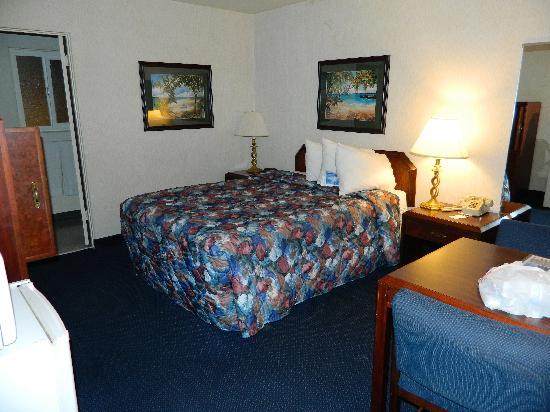 La Jolla Beach Travelodge: Regular King bed room
