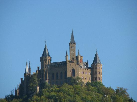 Castle of Hohenzollern: Castle Burg Hohenzollern