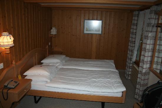 Hotel Alpenrose Wengen: Our delightful room in Hotel Alpenrose