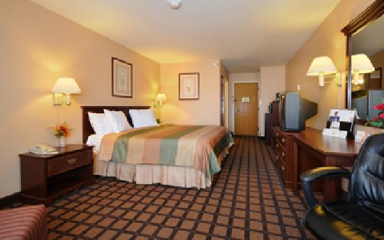 BEST WESTERN Inn & Suites of Merrillville: King Suite