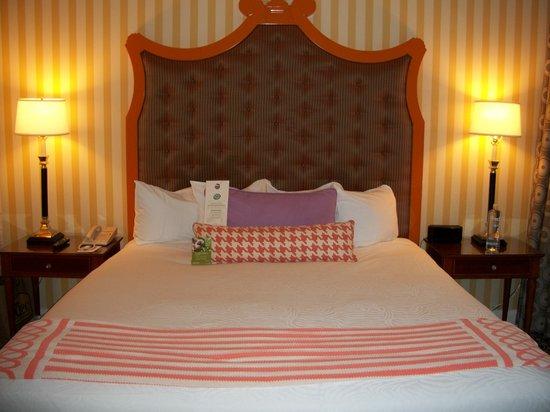 โรงแรมโมนาโก พอร์ทแลนด์-อะคิมป์ตัน โฮเต็ล: King bed