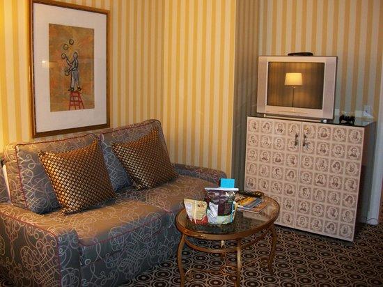 โรงแรมโมนาโก พอร์ทแลนด์-อะคิมป์ตัน โฮเต็ล: Sitting room
