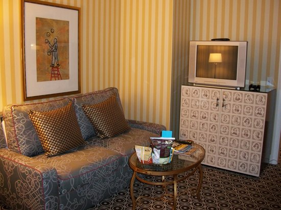 Kimpton Hotel Monaco Portland: Sitting room