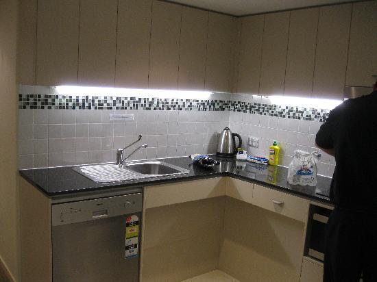 Ocean Views Resort: View of kitchen