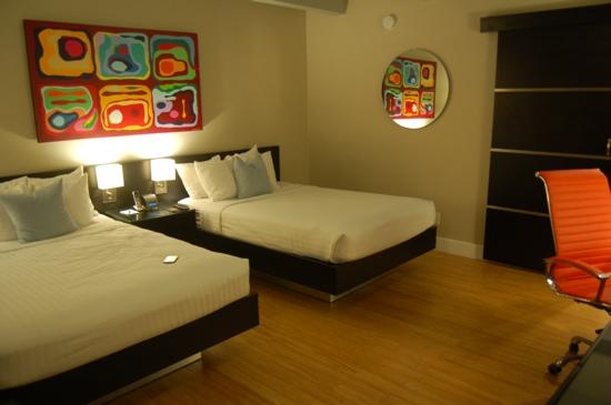 Hotel Current: one of the new rooms