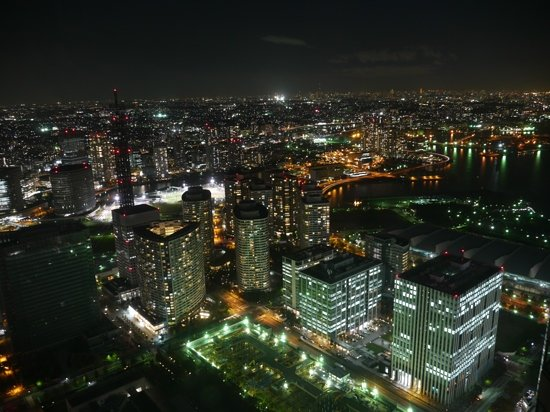 Yokohama, Japan: view from the top