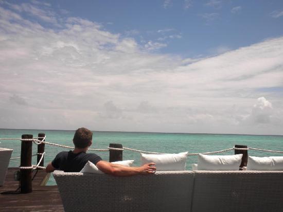 Essque Zalu Zanzibar: Enjoying the view from the Jetty!