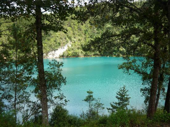 San Cristobal de las Casas, Meksika: Lagunas de Montebello