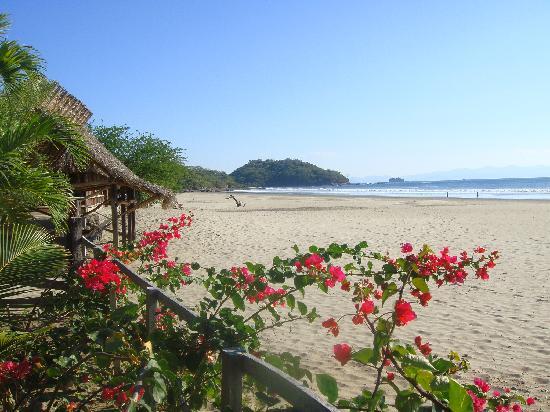 La Veranera - Playa El Coco: Playa el Coco vom Vorgarten