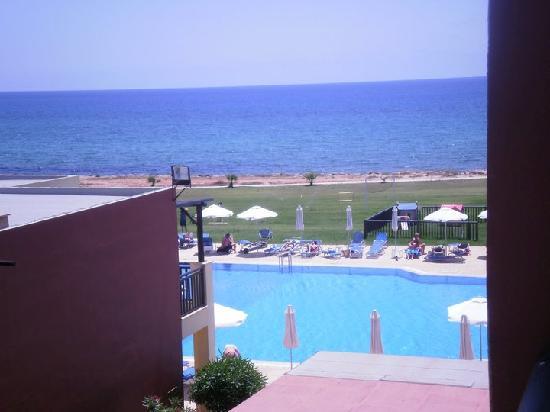 Panas Holiday Village: Panas balcony view