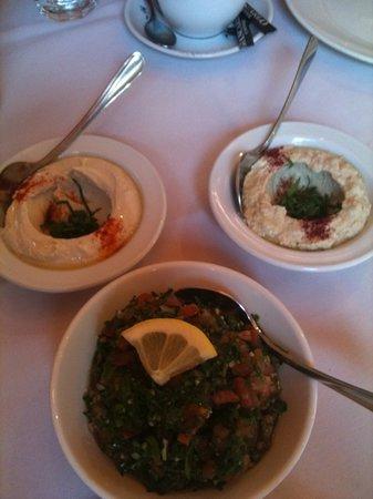 dips and Tabouli