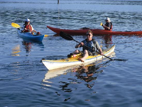Rocky Point Kayak: guide Tim, our Aussie helper