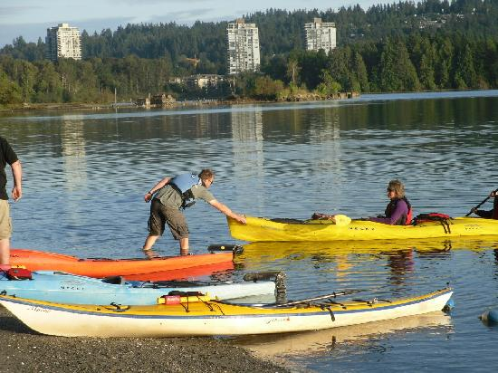 Rocky Point Kayak: great assistance from staff