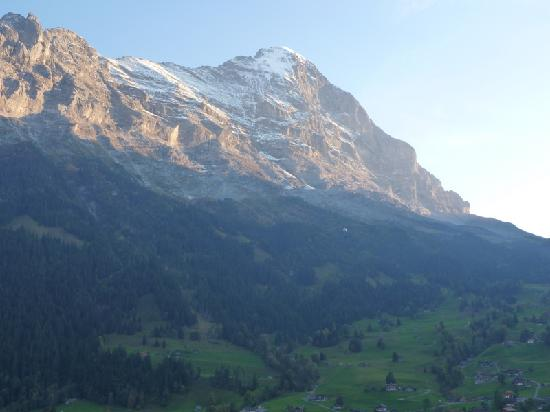 Bel Air Eden: Eiger from the balcony