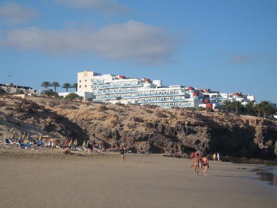 View From The Beach Fotograf 237 A De Hotel R2 Pajara Beach