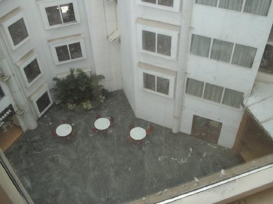 Mermaid Hotel : from my room (6floor) central area of hotel