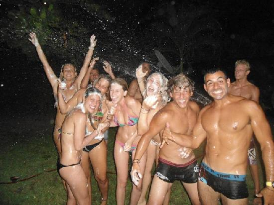 Hostel Seven7 Casa Del Gingi: Shower time ((: