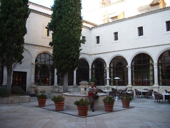 Province of Cuenca, Hiszpania: Claustro de parador de Cuenca
