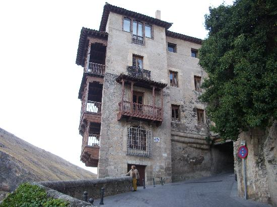 Province of Cuenca, Hiszpania: casas colgantes