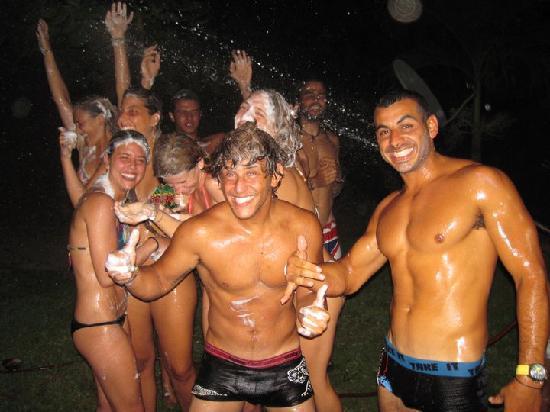 Hostel Seven7 Casa Del Gingi: crazy night