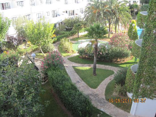 Club Martha's Aparthotel: gardens