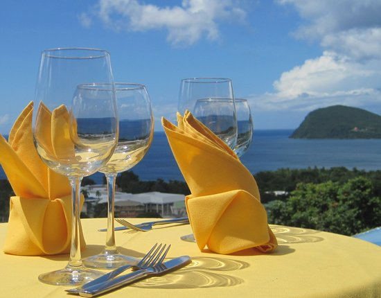 The Champs Restaurant : Fine Dining with a spectacular view