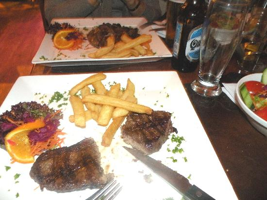 La Boca (My very well done steak)