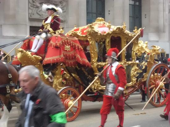 Fleet Street: Lord Mayors carriage