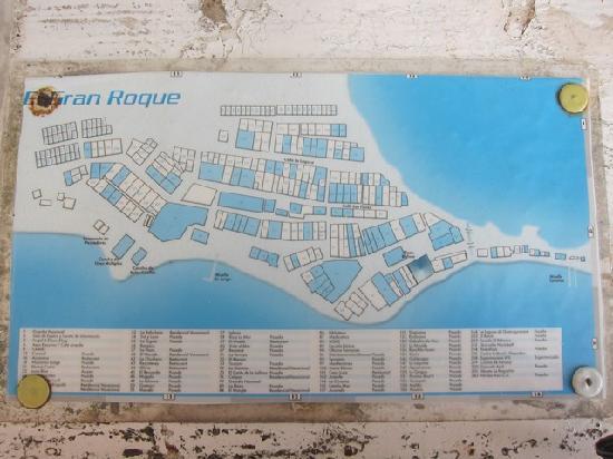 Posada Mediterraneo : Village's Map