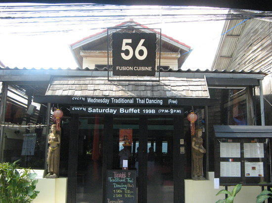 56 Restaurant: Front view of 56.
