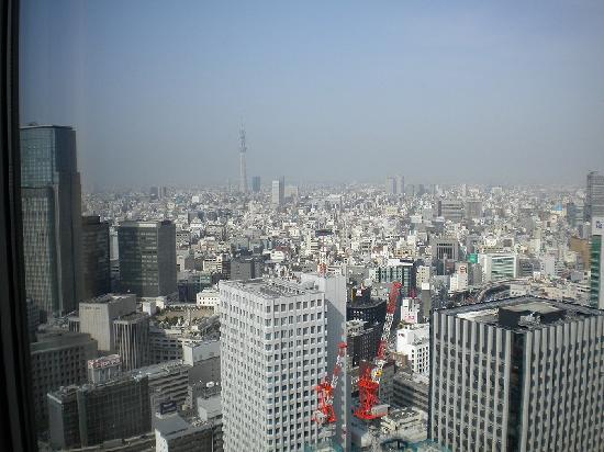 Shangri-La Hotel, Tokyo: 部屋からの眺望