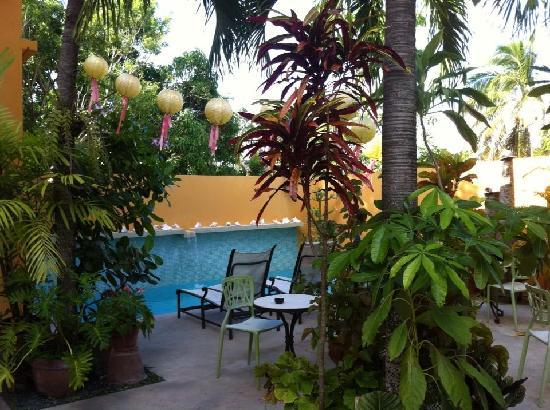 Casa de Amistad: Courtyard