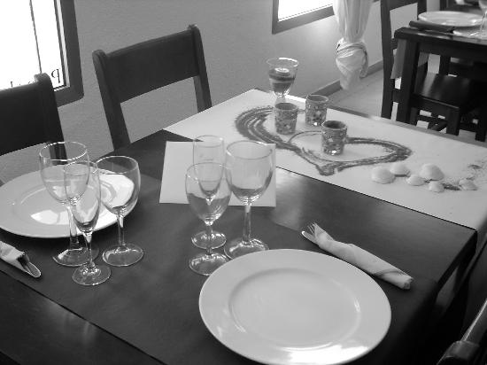 El Secreto del Agua: restaurante