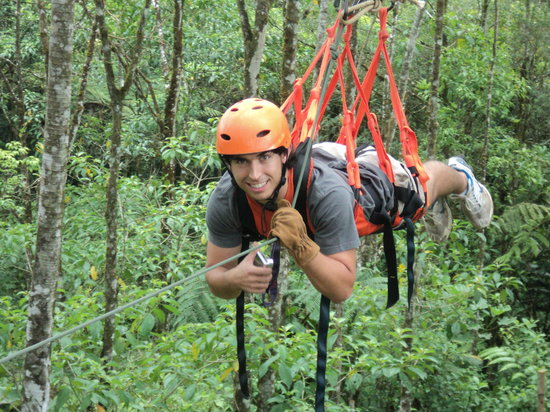 Isthmus Travel Panama : Canopy Adventure in El Valle