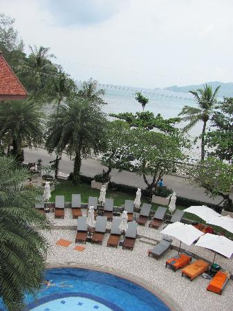 Seaview Patong Hotel: View from the superior room