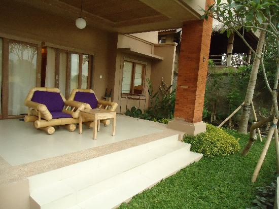 Tegal Sari: terrace of super deluxe room