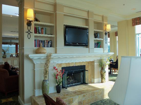 Hilton Garden Inn Riverhead : Lounge Area