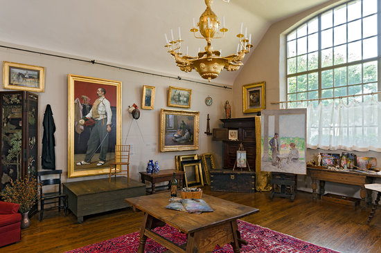 Gari Melchers Home and Studio at Belmont