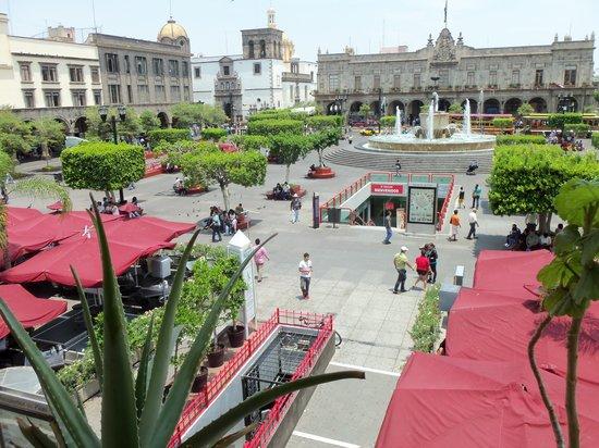 El Aposento Hotel: Zocalo, 5 Fussminuten