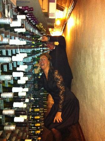 Casa Mia : Fab wine cellar