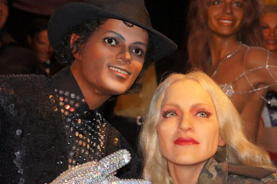 Michael Jackson Madonna Picture Of The Wax Museum At