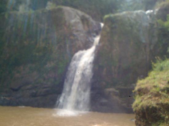 Jarabacoa, Dominican Republic: Lastima que acababa de llover y se ve un poco sucio...