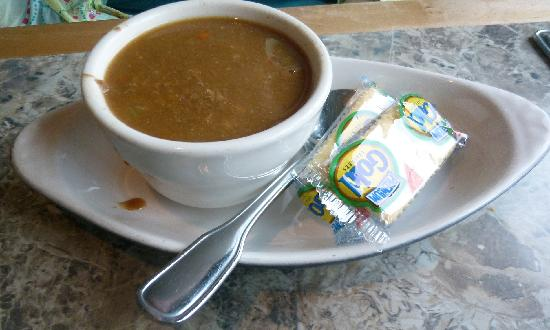 Driftwood Restaurant & Lounge: Beef barely soup, very beefy
