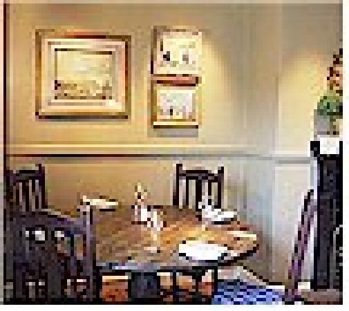 The Rose and Crown : The Front restaurant