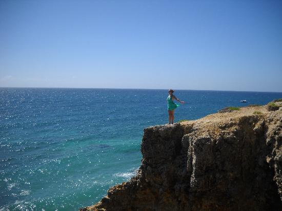 Playa Sucia: Standing on the cliffs