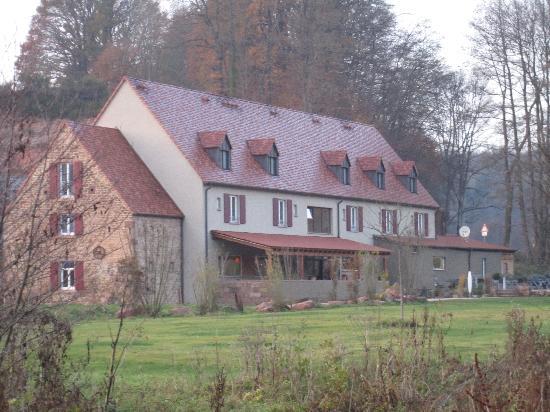 Landgrafen-Mühle: Hotel - Rückseite