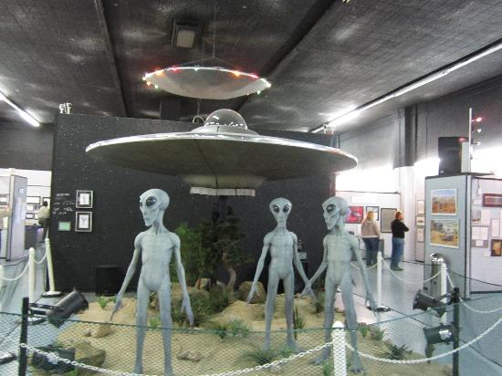 "International UFO Museum and Research Center: ""Your Starship is waiting, sir""!!!"