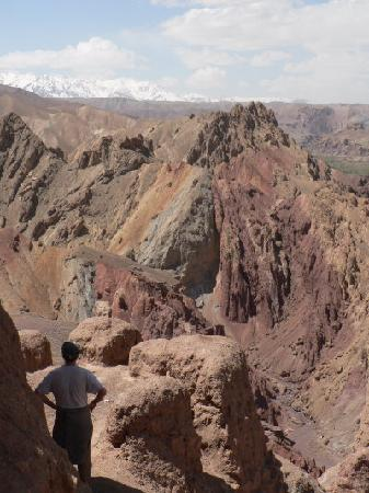 Cultural Landscape and Archaeological Remains of the Bamiyan Valley : Top of the Shar-e Zohak, Bamyan
