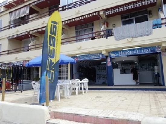 Itakadiving dive resort PADI : Terraza