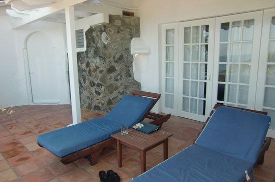 Windjammer Landing Villa Beach Resort : spacious balcony